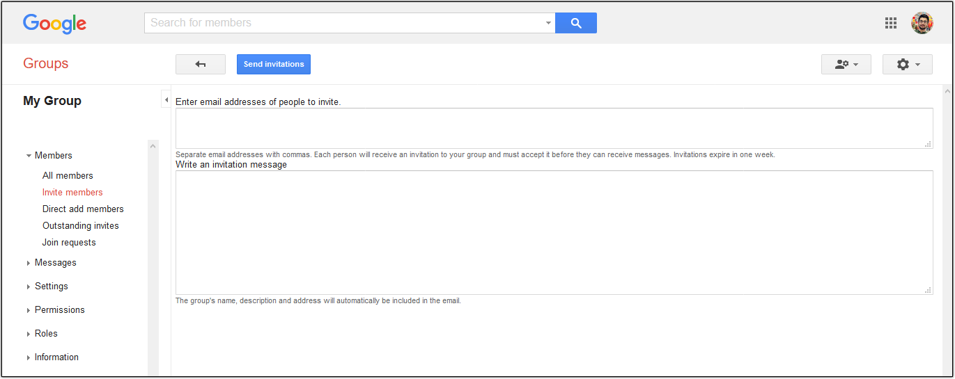Hiver Google Groups FAQ: Add members to Google Group