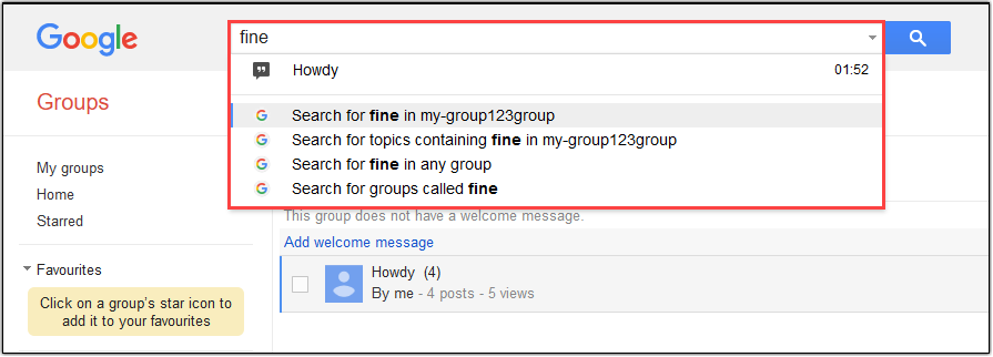 Hiver Google Groups FAQ: Google Groups search